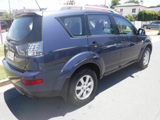 2007 Mitsubishi Outlander ZG XLS Blue 6 Speed Automatic Wagon.