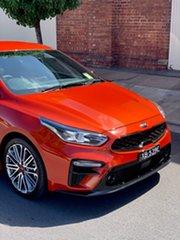 2020 Kia Cerato BD MY21 GT DCT Sunset Orange 7 Speed Sports Automatic Dual Clutch Sedan.