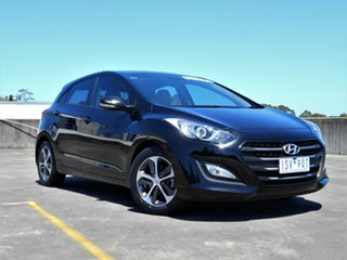 2016 Hyundai i30 GD4 Series II MY17 Active X Black 6 Speed Sports Automatic Hatchback.