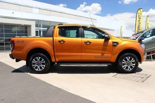 2017 Ford Ranger PX MkII Wildtrak Double Cab Pride Orange 6 Speed Sports Automatic Utility.