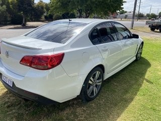 2013 Holden Commodore VF SV6 White 6 Speed Automatic Sedan