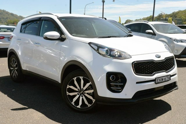 Used Kia Sportage QL MY19 SLi 2WD West Gosford, 2018 Kia Sportage QL MY19 SLi 2WD White 6 Speed Sports Automatic Wagon