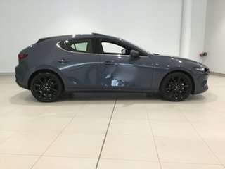 2019 Mazda 3 BP2HLA G25 SKYACTIV-Drive Astina Polymetal Grey 6 Speed Sports Automatic Hatchback.