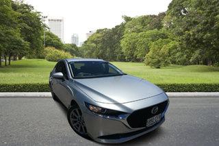 2020 Mazda 3 BP2S7A G20 SKYACTIV-Drive Touring Silver 6 Speed Sports Automatic Sedan.