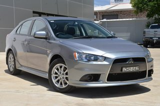 2012 Mitsubishi Lancer CJ MY12 Activ Sportback Grey 5 Speed Manual Hatchback.
