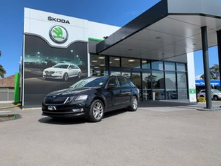 2020 Skoda Octavia NE MY20.5 110TSI DSG Black 7 Speed Sports Automatic Dual Clutch Wagon.