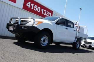 2013 Mazda BT-50 UP0YF1 XT White 6 Speed Sports Automatic Utility.