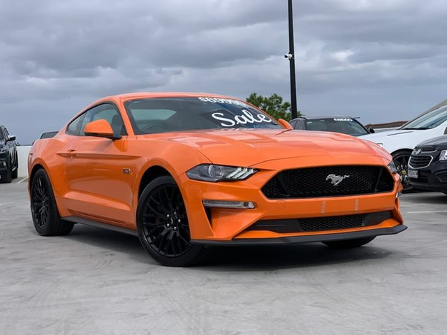 Used Ford Mustang FN 2019MY GT Liverpool, 2019 Ford Mustang FN 2019MY GT Twister Orange 6 Speed Manual Fastback