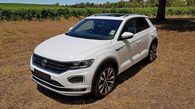 Demo Volkswagen T-ROC A1 MY21 140TSI DSG 4MOTION Sport Tanunda, 2020 Volkswagen T-ROC A1 MY21 140TSI DSG 4MOTION Sport Pure White 7 Speed