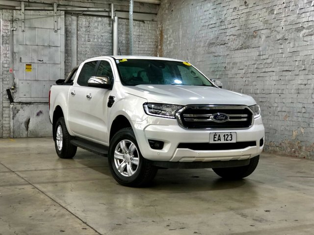Used Ford Ranger PX MkIII 2020.25MY XLT Mile End South, 2020 Ford Ranger PX MkIII 2020.25MY XLT White 6 Speed Sports Automatic Double Cab Pick Up