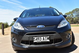 2010 Ford Fiesta WS Zetec Black 5 Speed Manual Hatchback.