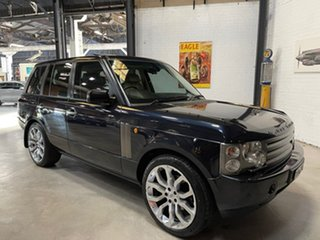 2002 Land Rover Range Rover L322 03MY Vogue Blue 5 Speed Automatic Wagon