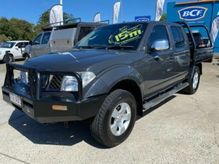 2008 Nissan Navara D40 ST-X Grey 5 Speed Automatic Utility.