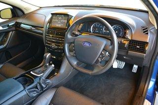 2012 Ford Falcon FG MkII XR6 Turbo Limited Edition Blue 6 Speed Sports Automatic Sedan.