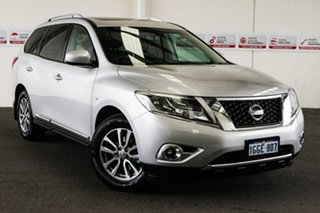 2017 Nissan Pathfinder R52 MY15 Upgrade ST-L (4x2) Continuous Variable Wagon.