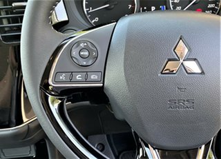 2020 Mitsubishi Outlander ZL MY21 ES 2WD Sterling Silver 6 Speed Constant Variable Wagon