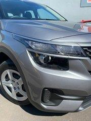 2020 Kia Seltos SP2 MY21 S 2WD Steel Grey 1 Speed Constant Variable Wagon.