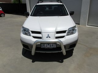 2006 Mitsubishi Outlander ZF MY06 LS White 4 Speed Sports Automatic Wagon.