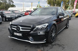 2016 Mercedes-Benz C-Class W205 807MY C250 7G-Tronic + Black 7 Speed Sports Automatic Sedan