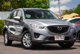 2013 Mazda CX-5 KE1021 MY13 Maxx SKYACTIV-Drive AWD Sport Silver 6 Speed Sports Automatic Wagon.