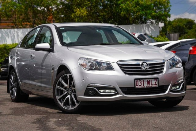 Used Holden Calais VF II MY16 V Mount Gravatt, 2016 Holden Calais VF II MY16 V Silver 6 Speed Sports Automatic Sedan