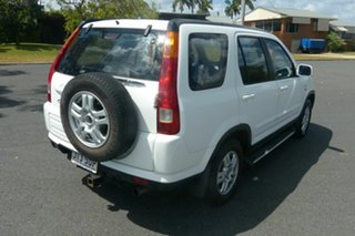 2002 Honda CR-V RD MY2002 Sport 4WD White 4 Speed Automatic Wagon.