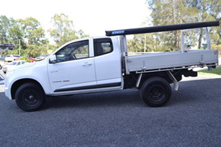 2012 Holden Colorado RG MY13 LX Space Cab White 5 Speed Manual Cab Chassis