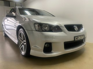 2011 Holden Commodore VE II SV6 Silver 6 Speed Manual Utility.