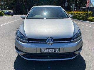 2017 Volkswagen Golf 7.5 MY18 110TSI DSG Silver 7 Speed Sports Automatic Dual Clutch Hatchback.