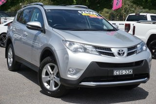2014 Toyota RAV4 ALA49R MY14 GXL AWD Silver 6 Speed Sports Automatic Wagon.
