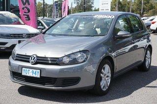 2009 Volkswagen Golf VI MY10 118TSI DSG Comfortline United Grey 7 Speed Sports Automatic Dual Clutch.