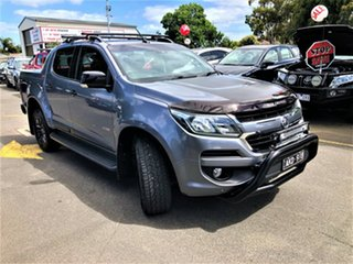 2016 Holden Colorado RG MY17 Z71 Pickup Crew Cab Charcoal 6 Speed Manual Utility.