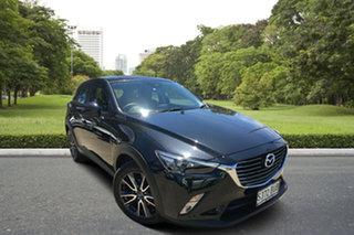 2018 Mazda CX-3 DK2W7A sTouring SKYACTIV-Drive Black 6 Speed Sports Automatic Wagon.
