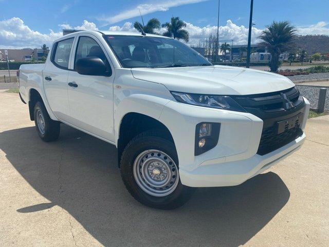 Used Mitsubishi Triton MR MY19 GLX Double Cab ADAS Townsville, 2019 Mitsubishi Triton MR MY19 GLX Double Cab ADAS White 6 Speed Manual Utility