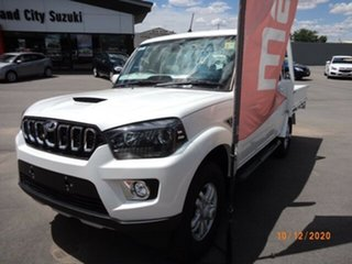 2020 Mahindra Pik-Up MY20 4WD S10+ Arctic White 6 Speed Manual Dual Cab Utility