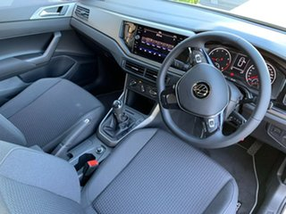2020 Volkswagen Polo AW MY21 85TSI Comfortline White 6 Speed Manual Hatchback
