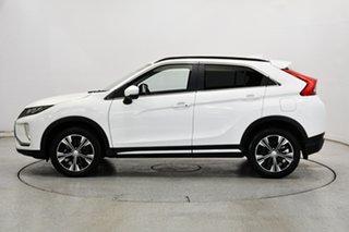 2020 Mitsubishi Eclipse Cross YA MY20 LS 2WD White 8 Speed Constant Variable Wagon.