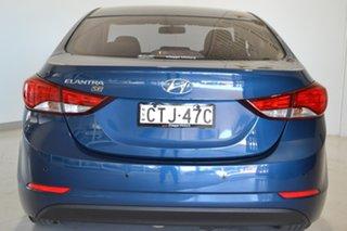 2014 Hyundai Elantra MD3 SE Blue 6 Speed Sports Automatic Sedan.