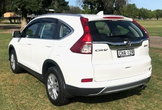 2017 Honda CR-V RM Series II MY17 VTi 4WD White 5 Speed Sports Automatic Wagon