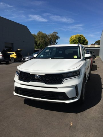 Demo Kia Sorento MQ4 MY21 S AWD Cheltenham, 2020 Kia Sorento MQ4 MY21 S AWD Clear White 8 Speed Sports Automatic Dual Clutch Wagon