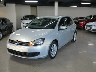 2012 Volkswagen Golf VI MY12.5 103TDI DSG Comfortline Silver 6 Speed Sports Automatic Dual Clutch.