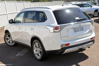 2012 Mitsubishi Outlander ZJ MY13 LS 4WD White 6 Speed Sports Automatic Wagon.