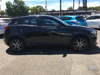 2018 Mazda CX-3 DK2W7A sTouring SKYACTIV-Drive Black 6 Speed Sports Automatic Wagon.
