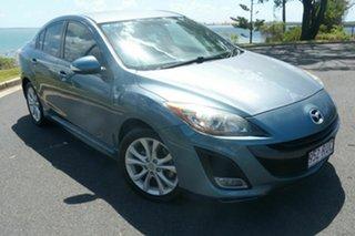 2011 Mazda 3 BL10L2 SP25 Blue 6 Speed Manual Sedan.