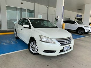 2013 Nissan Pulsar B17 ST White 1 Speed Constant Variable Sedan
