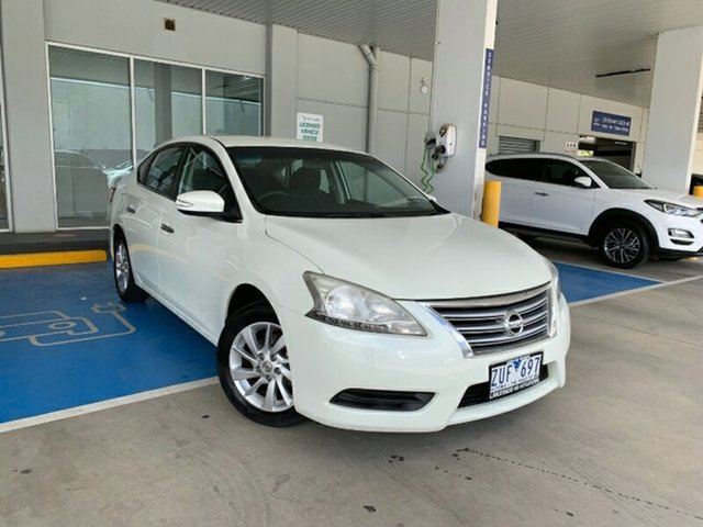 Used Nissan Pulsar B17 ST Ravenhall, 2013 Nissan Pulsar B17 ST White 1 Speed Constant Variable Sedan