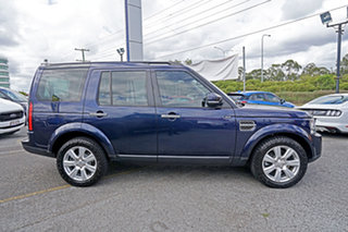 2014 Land Rover Discovery Series 4 L319 MY14 SDV6 SE Blue 8 Speed Sports Automatic Wagon