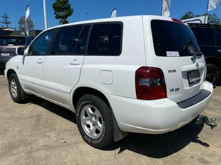 2005 Toyota Kluger MCU28R CV AWD White 5 Speed Automatic Wagon