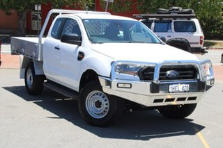 2020 Ford Ranger PX MkIII 2020.25MY XL Hi-Rider White 6 Speed Sports Automatic Super Cab Chassis