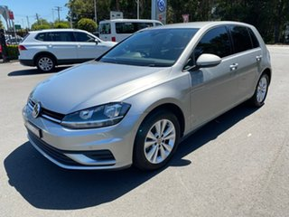 2017 Volkswagen Golf 7.5 MY18 110TSI DSG Silver 7 Speed Sports Automatic Dual Clutch Hatchback.